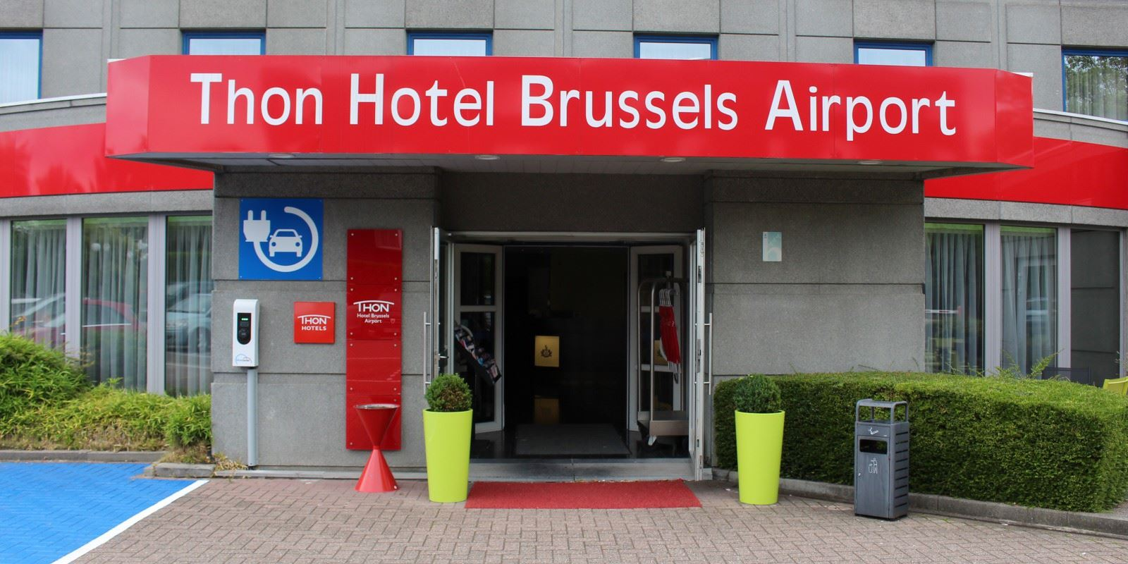 Thon Hotel Brussels Airport fasade
