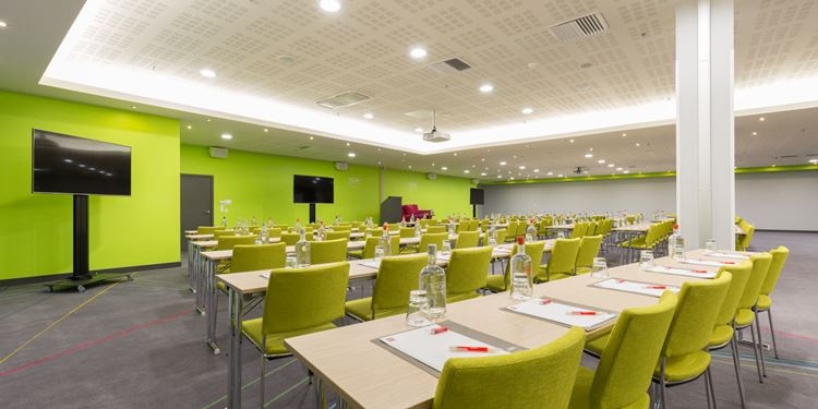 Meeting room in the conference centre at Thon Hotel Brussels City Centre