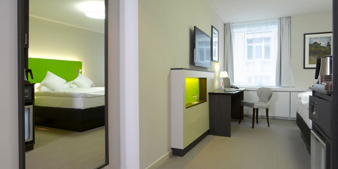 Accessible room in Brussel at Thon Hotel EU with spacious room