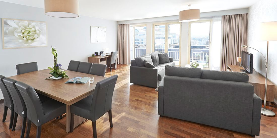 Furnished apartment for long or short time rental in Brussels