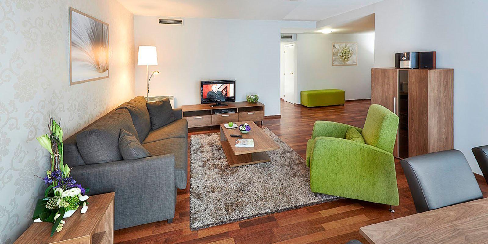 Stue i leilighet