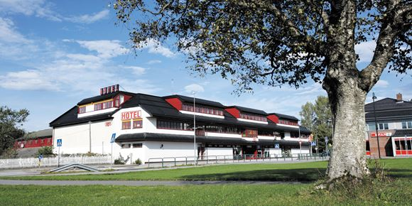 The facade of Thon Hotel Baronen