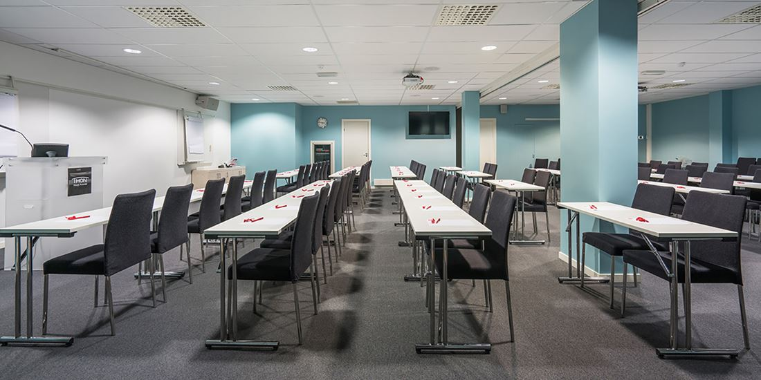 Conference facility to seat 120