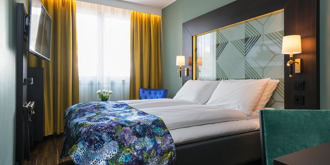 A Double room at Thon Hotel Orion