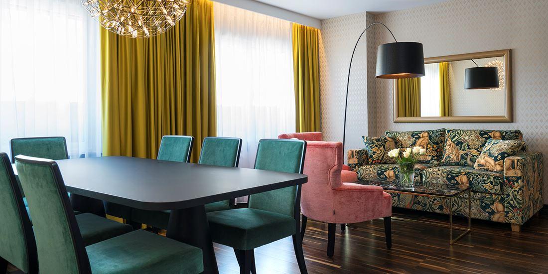 Suite met faciliteiten voor vergaderingen