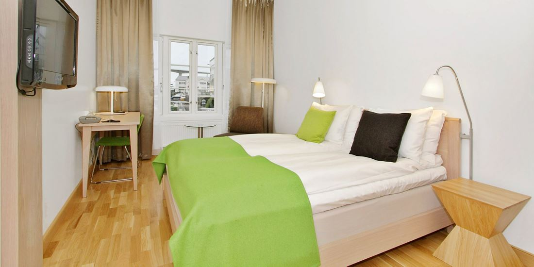 standard room twin dobbeltrom med separate enkeltsenger