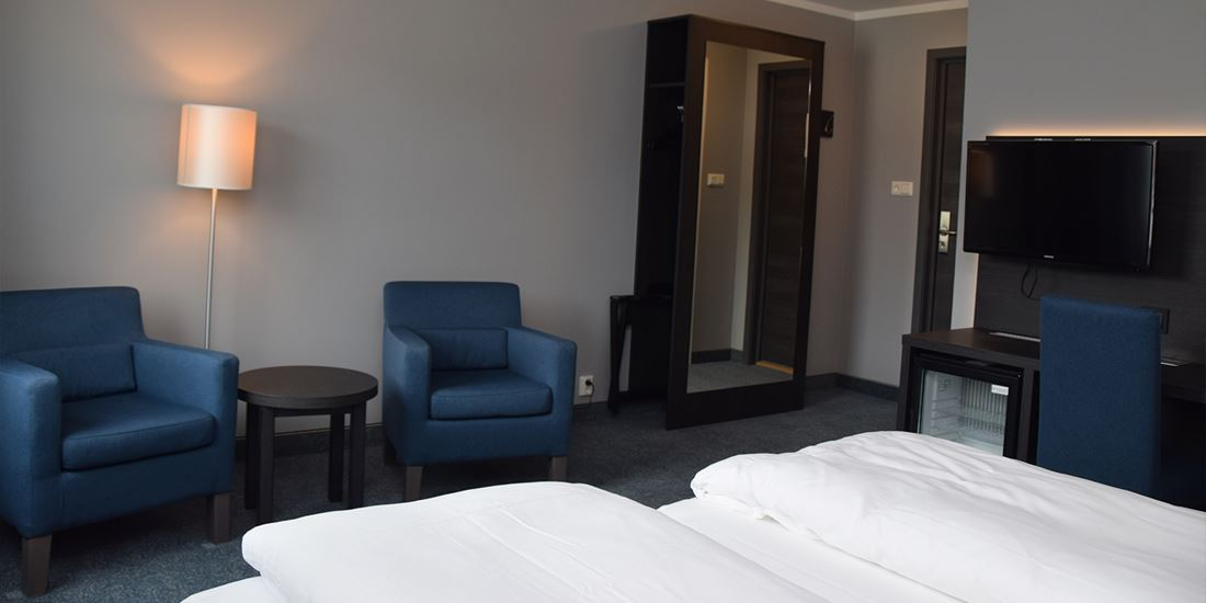Superior Room at Thon Hotel M�l�y