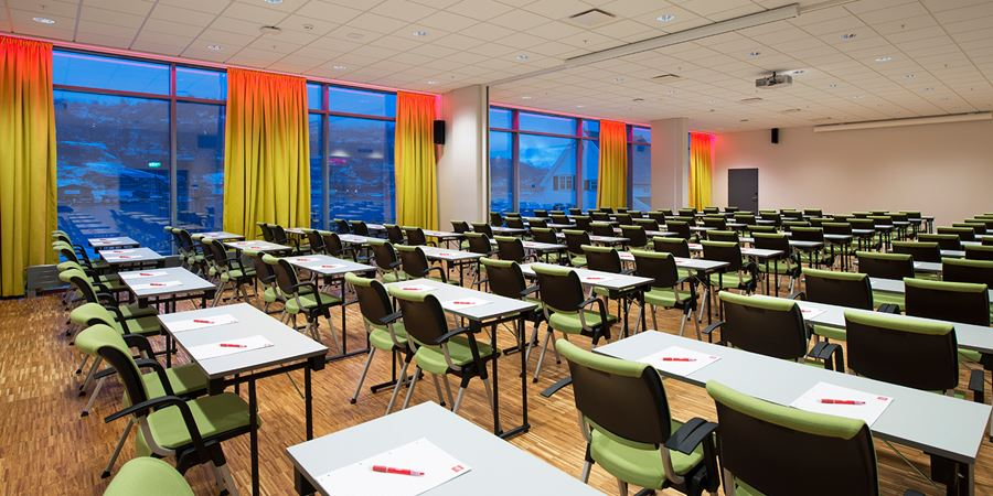 Conference venue at Thon Hotel Sandven to seat 200