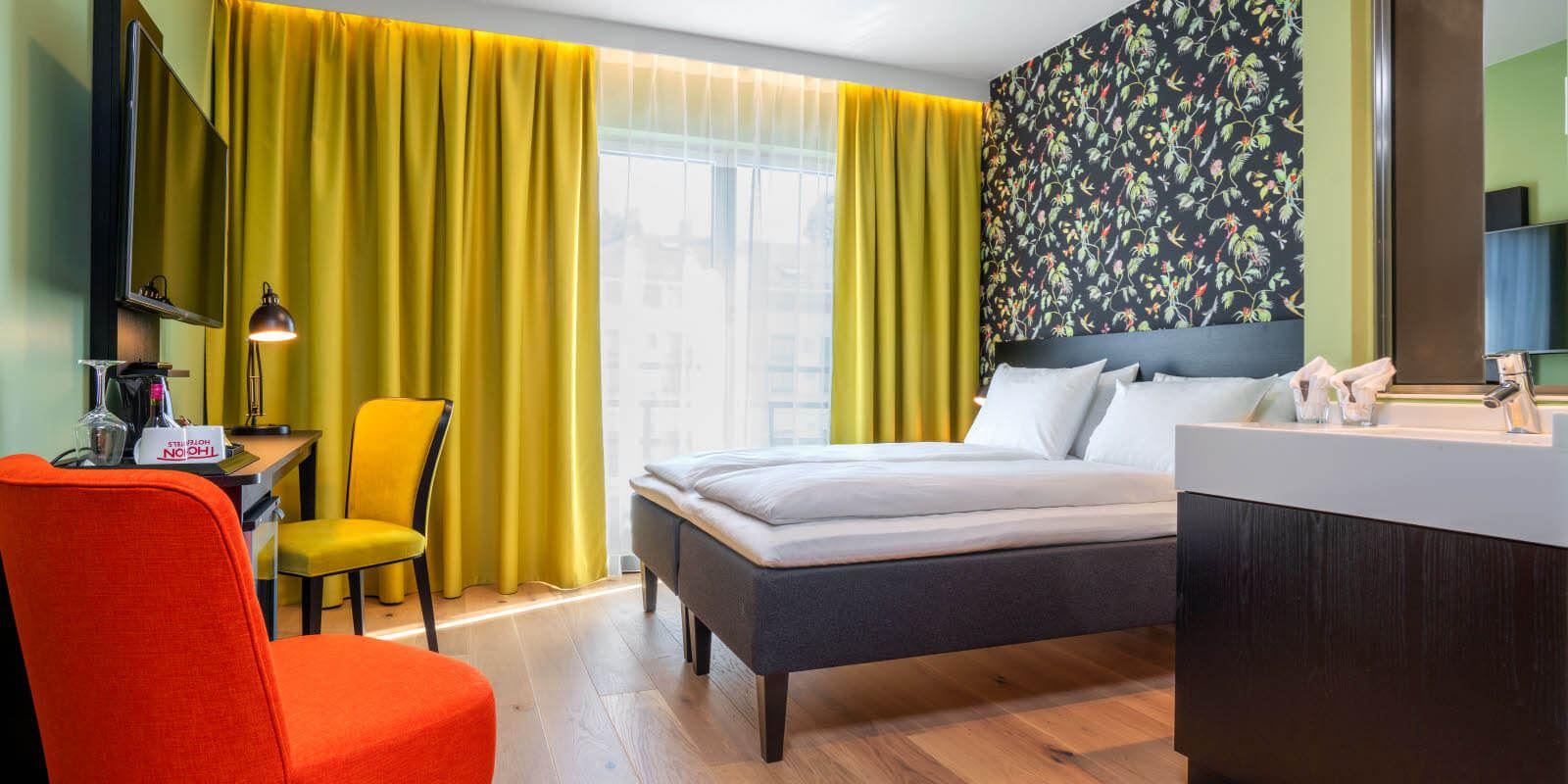 Standard room double dobbeltseng