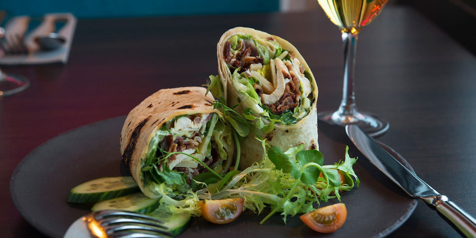 Scala restaurant wraps
