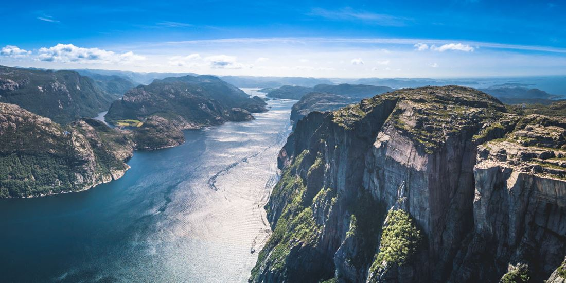 Preikestolen in summer light