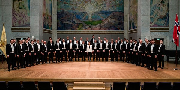The singers of the Norwegian Student Choral Society