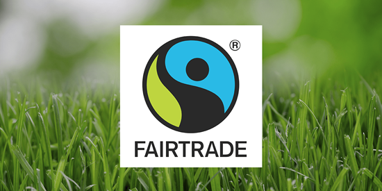 Logoen til Fairtrade